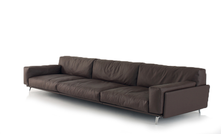 Sofa de cuero contemporaneo bs 4956 for Sofas contemporaneos