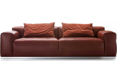Sofa de cuero contemporaneo bs 4522 for Sofas contemporaneos